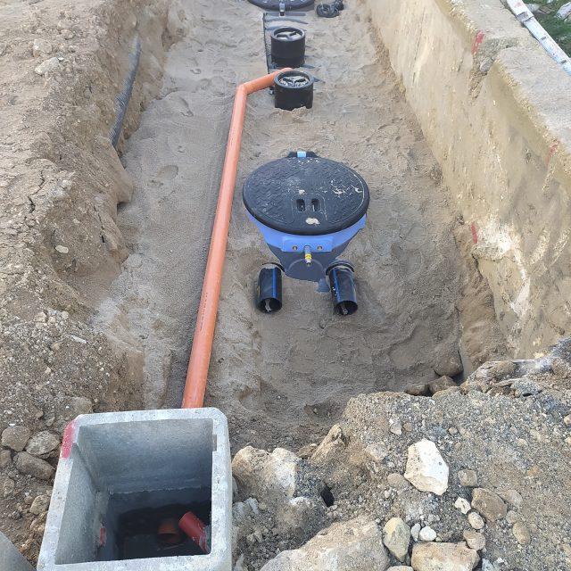 Ragusa - Posa N.3 impianti ibridi biogrigio/bioblu per il riutilizzo delle acque provenienti dagli scarichi civili