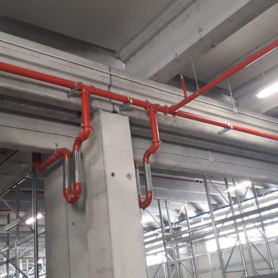 Realizzazione impianto antincendio opificio - Impresa TorrisiCrea